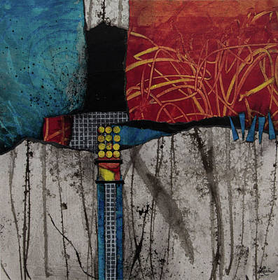Print Mixed Media - Primary Purpose by Laura Lein-Svencner
