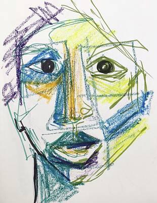 Painting - Primative by Karen Ahuja
