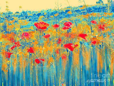 Primavera Art Print by Alfonso Garcia
