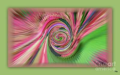Mixed Media - Primavera Bala by Halina Nechyporuk