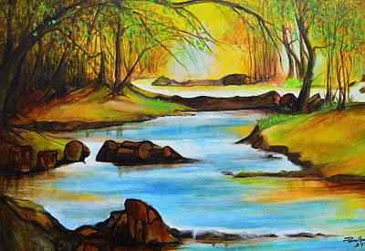Painting - Primavera by Jorge Parellada