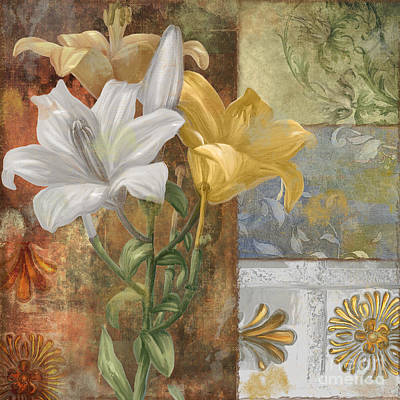 Lilies Paintings - Primavera by Mindy Sommers