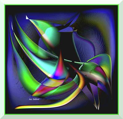Digital Art - Primitive 5 by Iris Gelbart