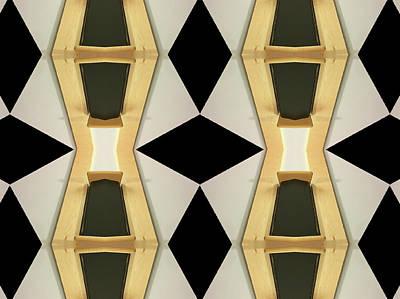 Primitive Graphic Structure Art Print