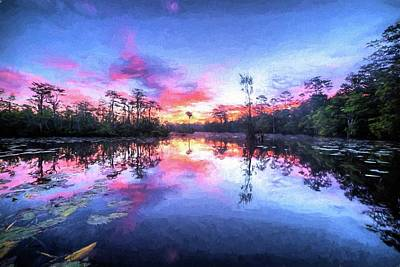 Photograph - Primordial Sunrise by JC Findley