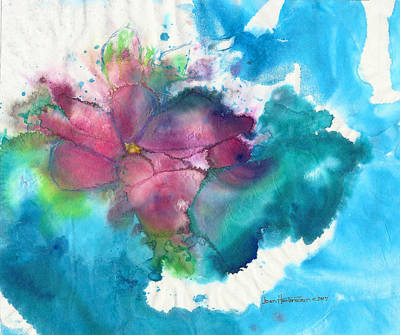 Free Form Painting - Primrose by Joan Hartenstein