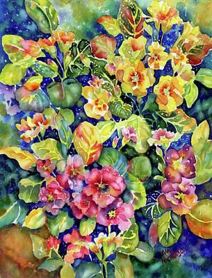 Primrose Patch I Art Print