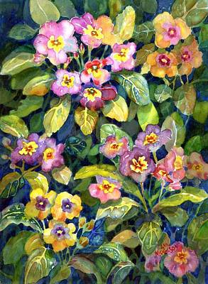 Painting - Primrose Patch II by Ann Nicholson