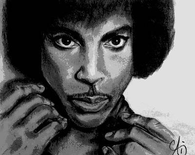 Digital Art - Prince - Artwork by Ai P Nilson