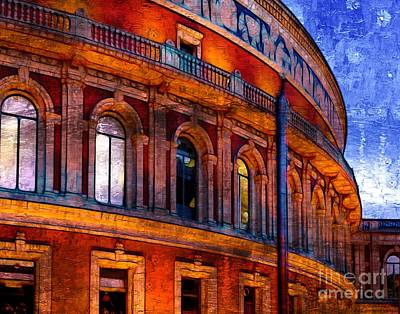 Photograph - Royal Albert Hall, London by Judi Bagwell
