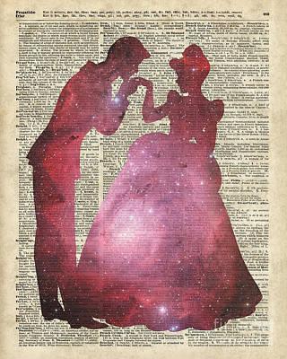 Gir Digital Art - Prince And Princess by Jacob Kuch