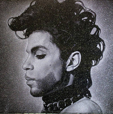 Granite Drawing - Prince by Andrew Fedosii