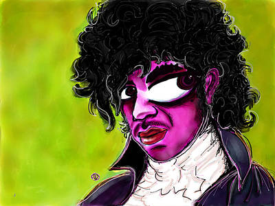 Rhythm And Blues Digital Art - Prince by Angie Snapp