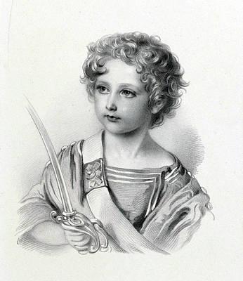 Prince William Painting - Prince Arthur William Patrick by Franz Xaver Winterhalter