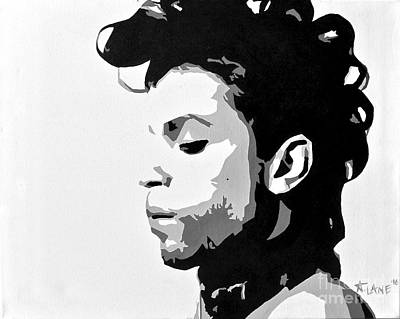 Painting - Prince by Ashley Lane