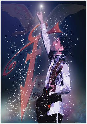 Digital Art - Prince by Hay Rouleaux