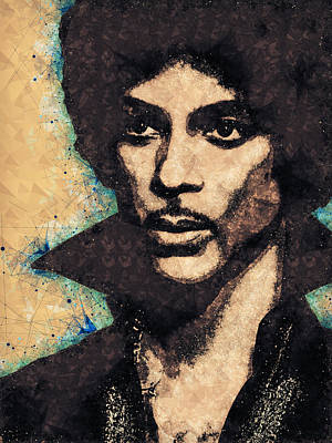 Mixed Media - Prince Illustration by Studio Grafiikka