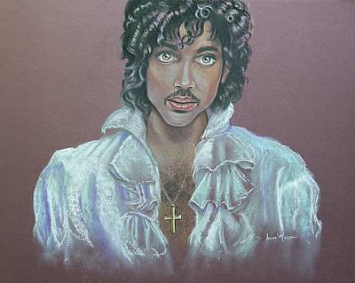 Portrait Painting - Prince by Irma Mason