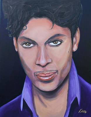 Painting - Prince by Joseph Love