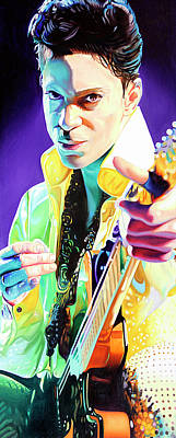 Painting - Prince by Joshua Morton