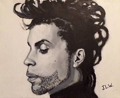 Painting - Prince by Justin Lee Williams