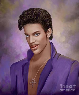 Prince Art Print by Karen Walker
