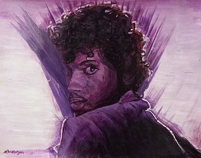 Painting - Prince by Michael Morgan