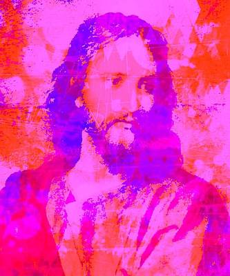 Jesus Digital Art - Prince Of Peace by Brian Broadway