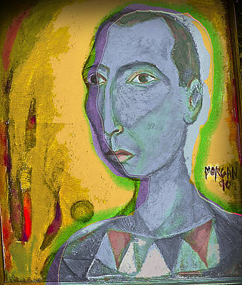 Self-portrait Mixed Media - Prince Of The Nile by Noredin Morgan