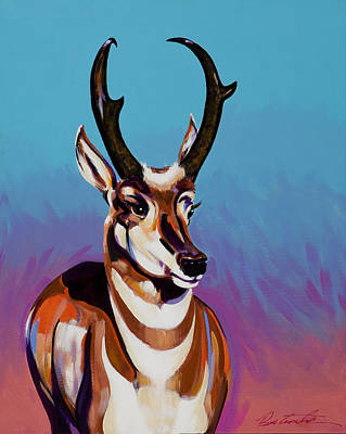 Painting - Prince Of The Prairies by Bob Coonts