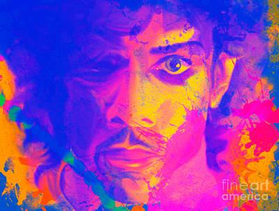 Andywarhol Painting - Prince Pop Art Pur by Felix Von Altersheim