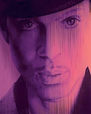 Prince - Purple Rain Art Print by Lori Seaman