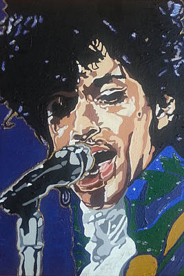 Painting - Prince by Rachel Natalie Rawlins