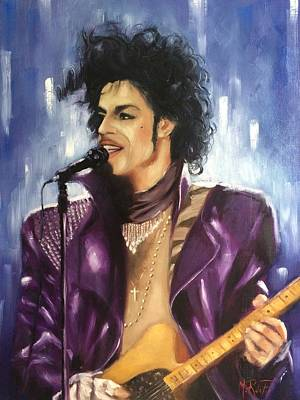 Prince Rogers Nelson Original by Marcela Rogel de Pepper