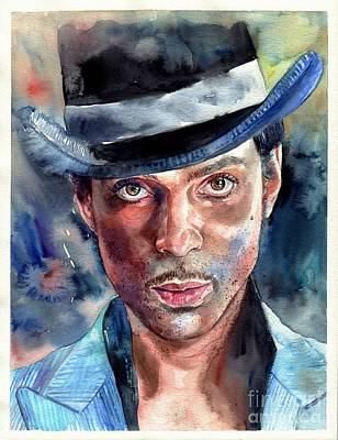 Amazing Painting - Prince Rogers Nelson by Suzann's Art