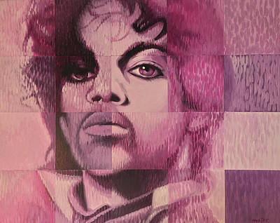 Painting - Prince by Steve Hunter