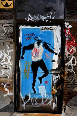 Wall Art - Painting - Prince Street by Wayne Pearce