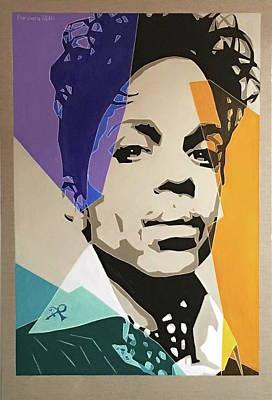 Painting - Prince Superstar by Varvara Stylidou