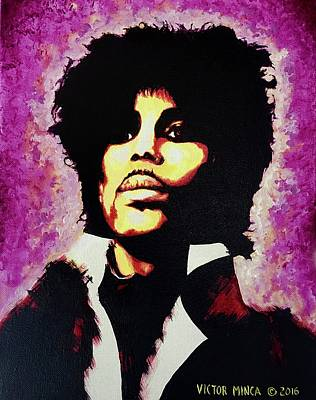 Painting - Prince by Victor Minca