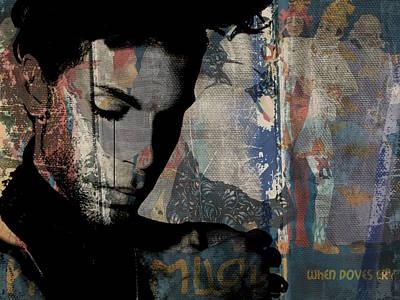Digital Art - Prince - Art by Paul Lovering