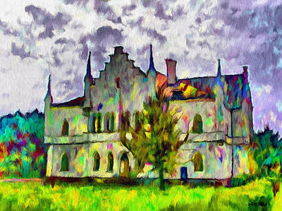 Painting - Princely Palace by Jeff Kolker