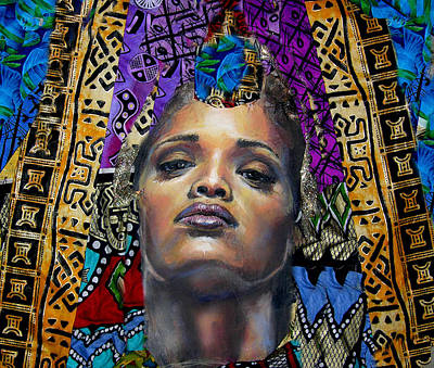 Mixed Media - Princess 1 by Gary Williams