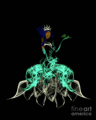 Digital Art - Princess And The Frog by Samantha Guindon