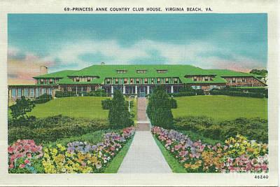 Digital Art - Princess Anne Country Club Virginia Club  by Melissa Messick