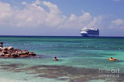 Photograph - Princess Cay by Gary Wonning