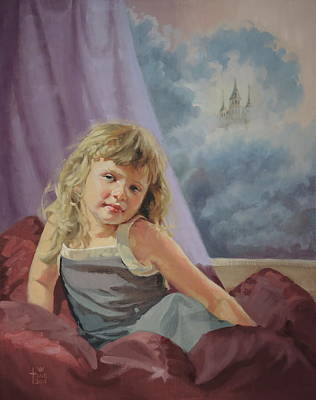 'princess' Art Print by Christine Miller