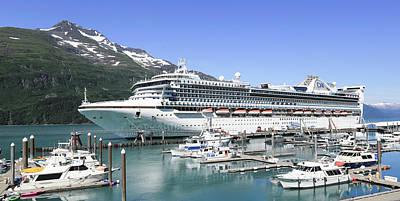 Music Figurative Potraits - Princess Cruise Lines Whittier Alaska by Sam Amato