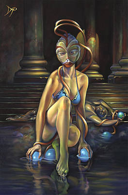 Nudes Royalty-Free and Rights-Managed Images - Princess Dejah Thoris of Helium by Patrick Anthony Pierson