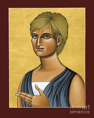 Painting - Princess Diana 078 by William Hart McNichols