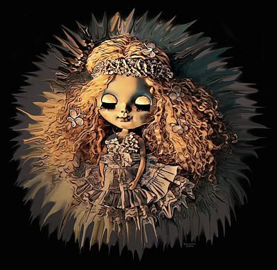 Digital Art - Princess Doll by Artful Oasis